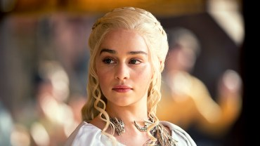 Danaerys Targaryen (photo from HBO.com)