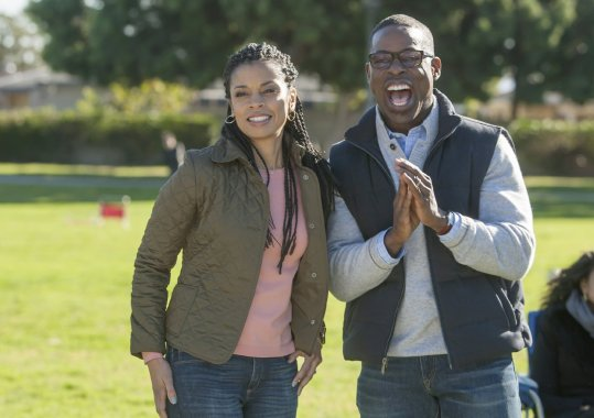 Beth (Susan Kelech Watson) and Randall (Sterling K. Brown)