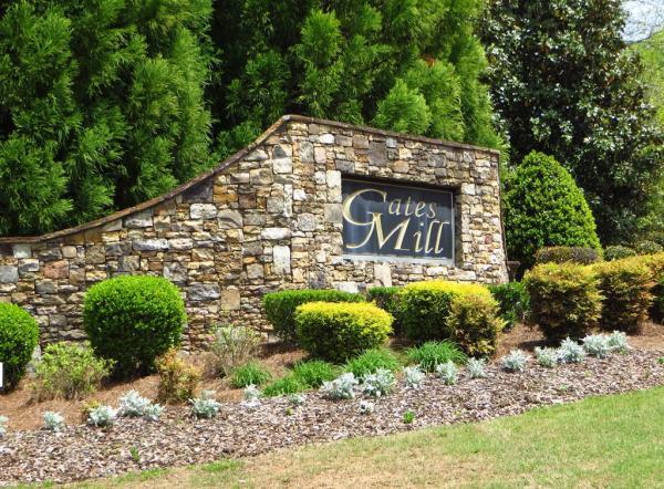 Gates Mill Subdivision Milton GA