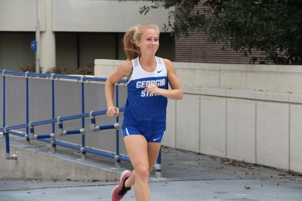 South Carolina graduate runner brings experience to Georgia State. Photo by Ralph Hernandez | The Signal