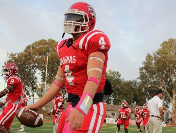 Nick Arbuckle, Quarterback, expects for his senior year to be his best one yet.  Photo