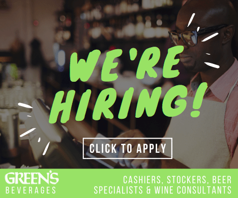 Green's Beverages - Now Hiring