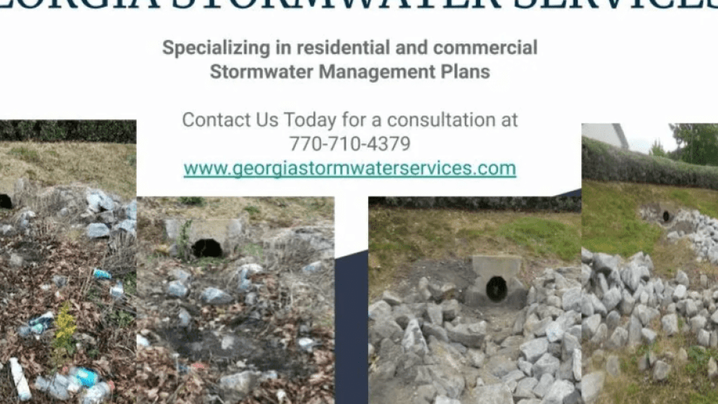 Do You Have A Stormwater Management Plan...