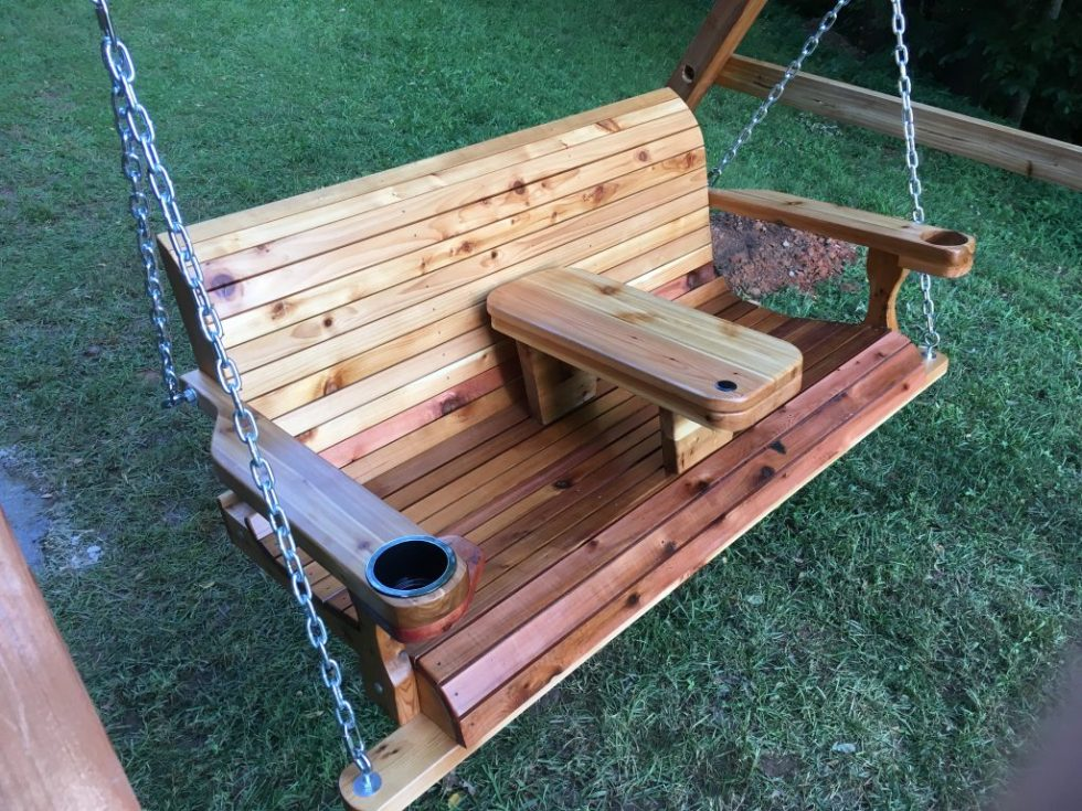 5 Foot Cedar Porch Swing