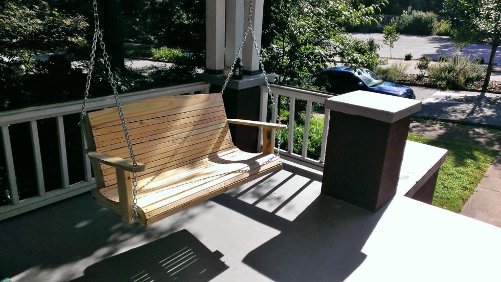 The Atlanta Porch Swing