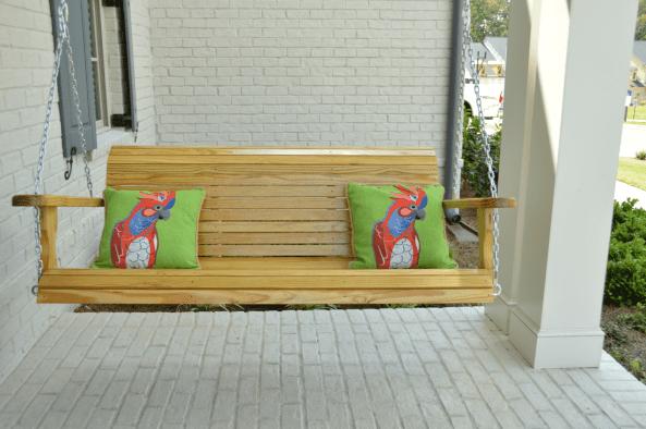 Marietta Porch Swing Kiln Dried Pine