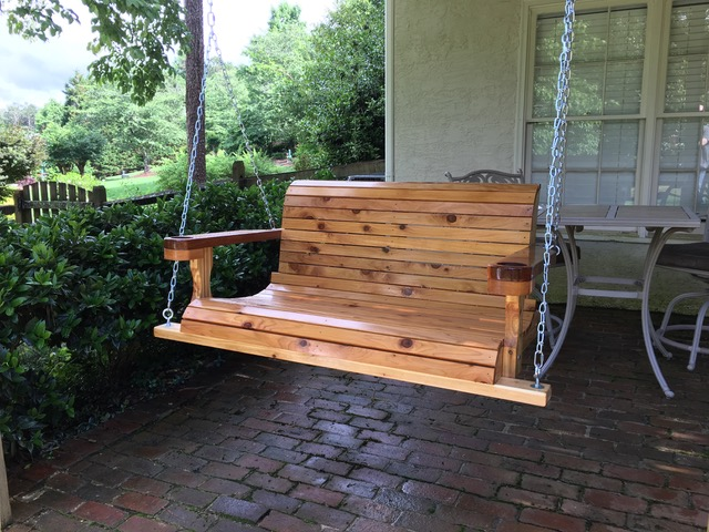 4 ft Cedar Porch Swing