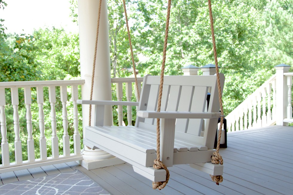 Handcrafted Porch Swing