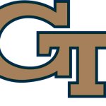 Georgia Tech logo gold and blue