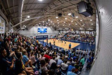 O'Keefe Gymnasium wide angle