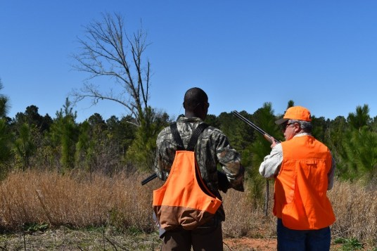 Hunting at Field to Fork program