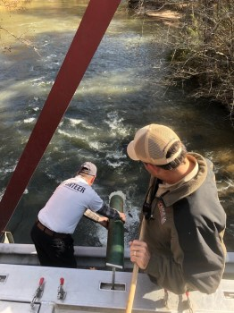 Amicalola Trout Stocking