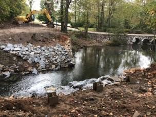Smith Creek Delayed Harvest - Road Repairs