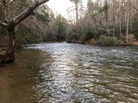 Chattooga DH Sandy Beach 12-22-18