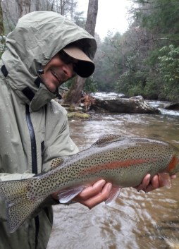 Mo's Rainbow Trout, Dukes, 12-8-18