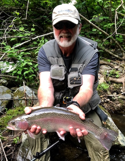 21-inch rainbow trout from Nan DH (05-19-19)