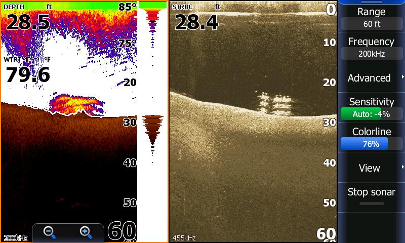 Allatoona attractor sonar June 2019