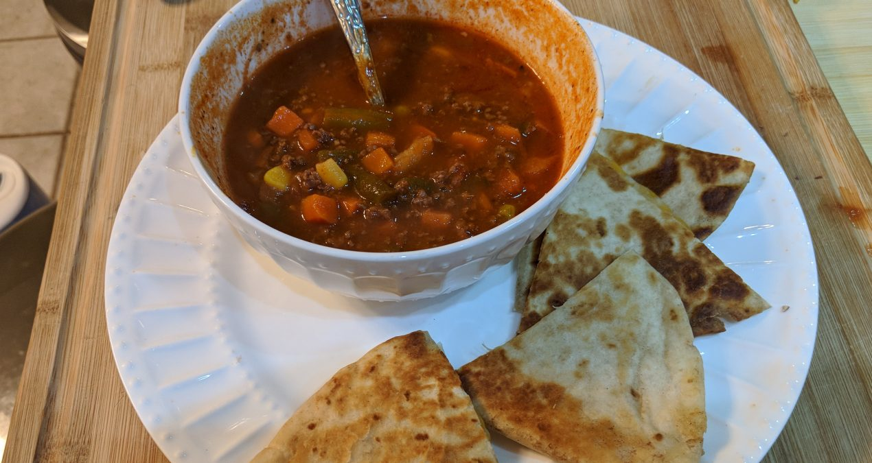 Venison Veggie Soup Recipe