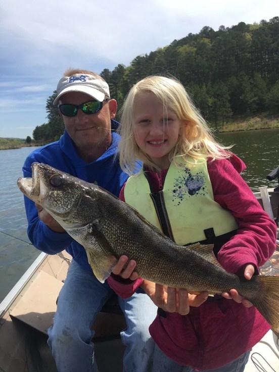 Walleye caught at Rocky Mtn PFA