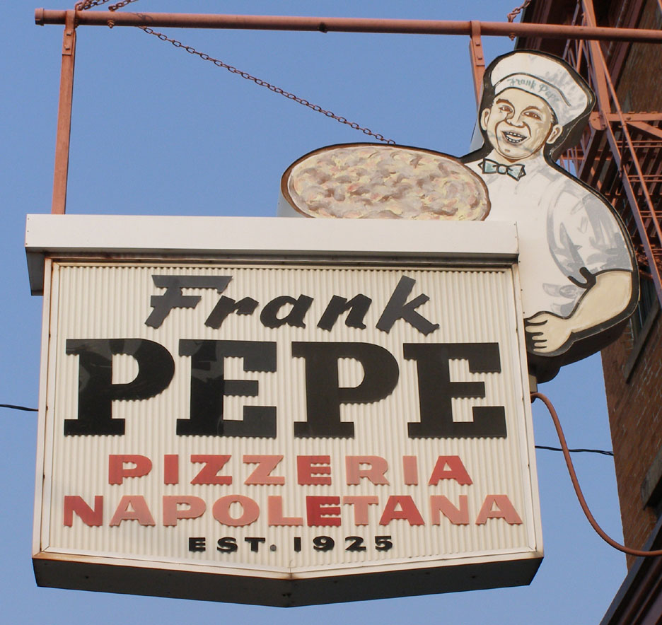 FRank Pepe New Haven
