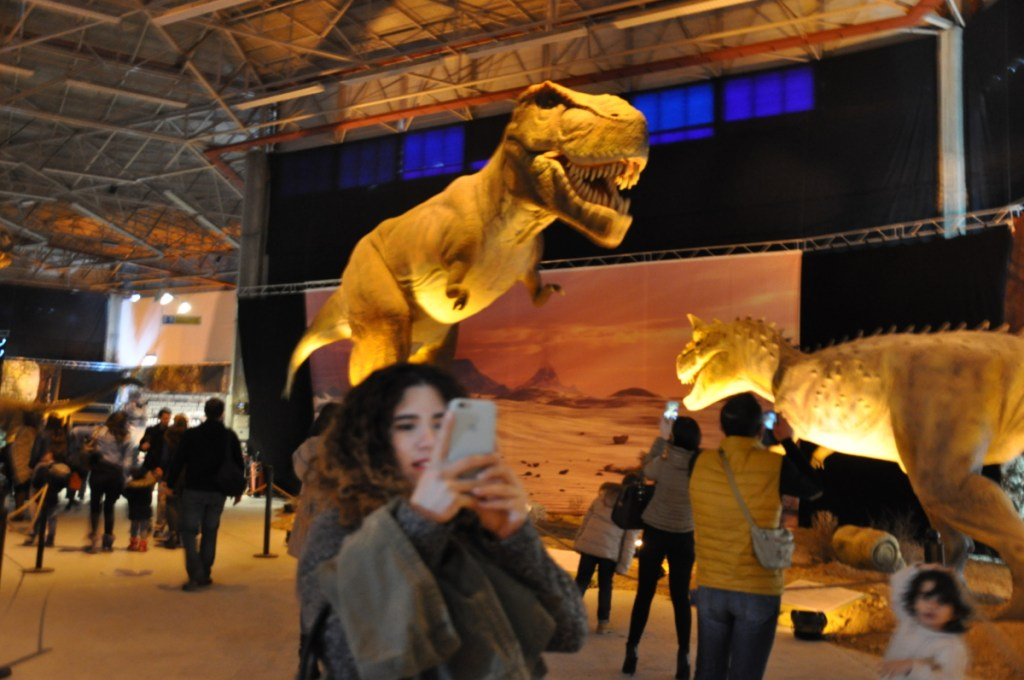georgie's mummy dino exhibition