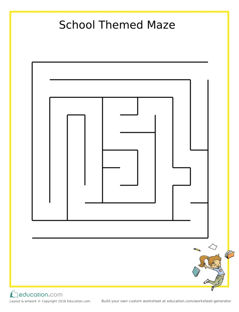 Activity Worksheets For Busy Little Minds