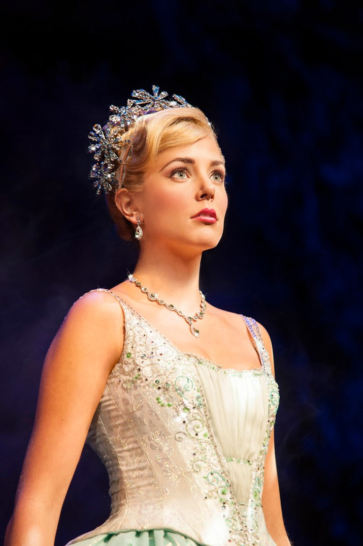 Wicked UK & Ireland Tour. Emily Tierney as Glinda.