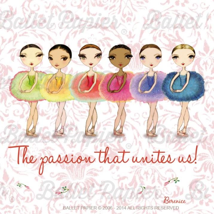 Ballet Papier: Ballet is the passion that unites us