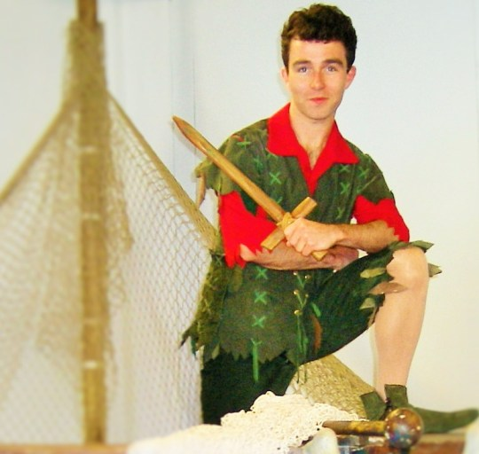 George Ure as Peter Pan (photo by Georgina Butler)
