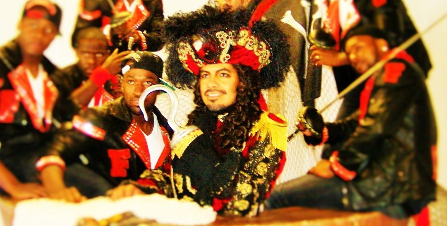 David Bedella as Captain Hook and Flawless as the pirate crew (photo by Georgina Butler)