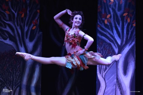 Elves & the Shoemaker. Northern Ballet dancer Kiara Flavin as Stitch the Elf in 'Elves & the Shoemaker' (Photo by Brian Slater).
