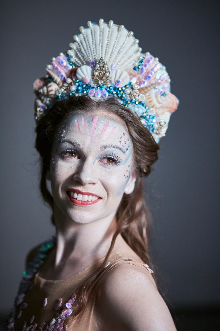 Northern Ballet dancer Abigail Prudames as The Little Mermaid.
