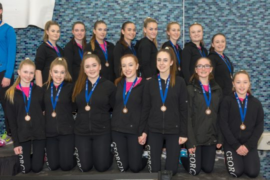 2016-2017 Pre-Novice Ice-Ations - Synchro Capers - 29JAN2017