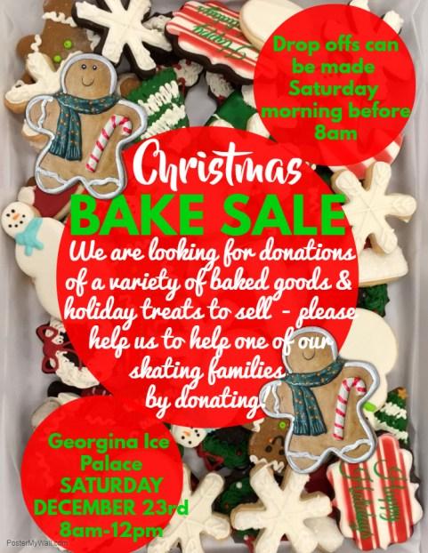 GSC Christmas Bake Sale