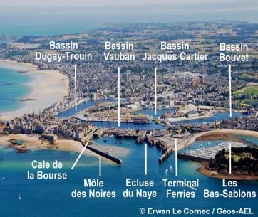 DDTM d'Ille et Vilaine, Plan de Prévention des risques littoraux de la commune de Saint-Malo, 2013 (Madataire DHI)