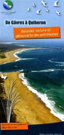 De Gâvres à Quiberon, balades nature et découverte des patrimoines,Syndicat Mixte Gâvres-Quiberon, 2013 (couverture et pages intérieures)
