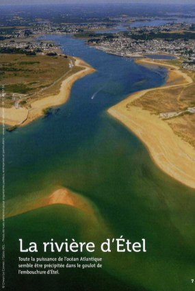 « De Plouharnel à Quimperlé, une balade le long du littoral et des rivières », Echappées marines, 2015 (pages intérieures)