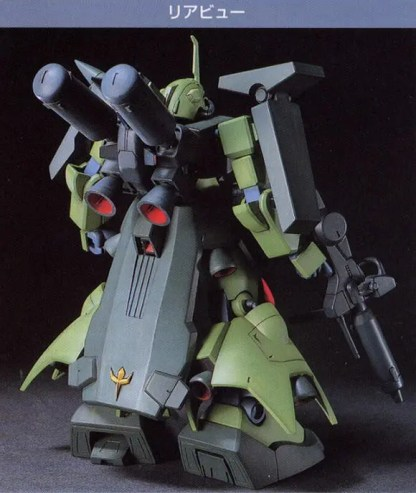 HGUC 1/144 AMX 011S ZAKU III CUSTOM - Nº 003