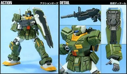 HGUC 1/144 RGM 79FP GM STRIKER - Nº 072