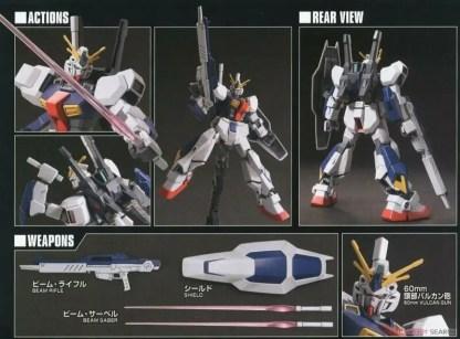 HGUC 1/144 RX-78AN-01 GUNDAM AN-01 TRISTAN - Nº 205