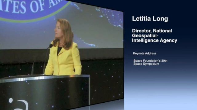 Letitia Long (Director, NGA) Keynote at 30th Space Symposium