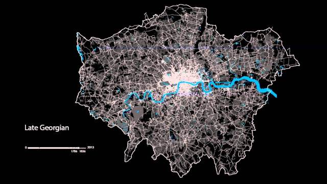 The London Evolution Animation
