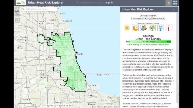 Urban Heat Risk Explorer