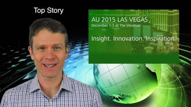 12_17 Infrastructure Broadcast (Autodesk University, Sponge Parks and More)