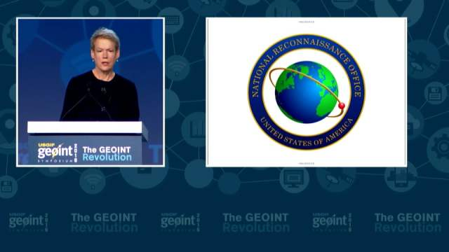 GEOINT Keynote: Betty J. Sapp, Director, NRO