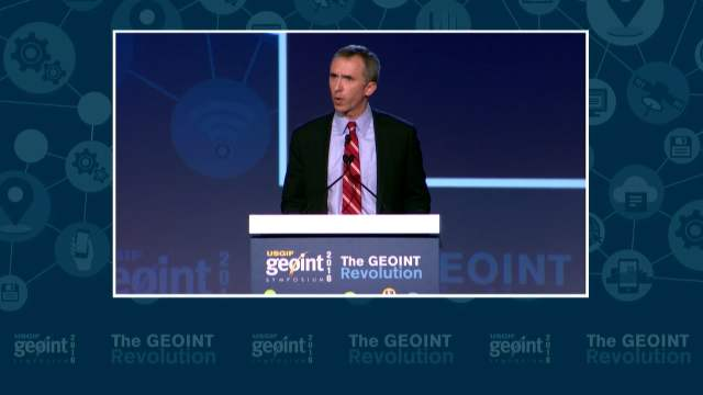 GEOINT Keynote: Marcel Lettre, Under Secretary of Defense for Intelligence