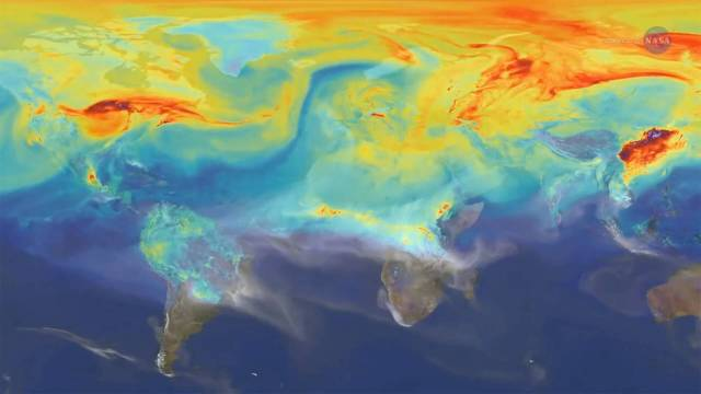 Reshuffling Heat on a Warming Planet