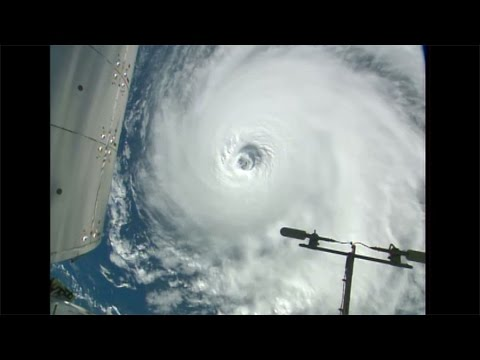 Space Station Orbits Three Hurricanes