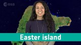 Earth from Space: Easter Island