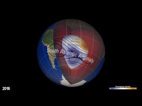 NASA Explores Earth's Magnetic 'Dent'